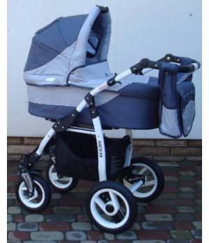 Универсальная коляска 2 в 1 Adbor Siesta 08 (graphite-grey)