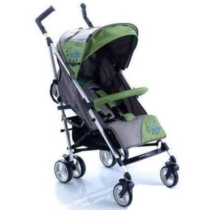 Прогулочная коляска трость Baby Point PICASO зелено - серый