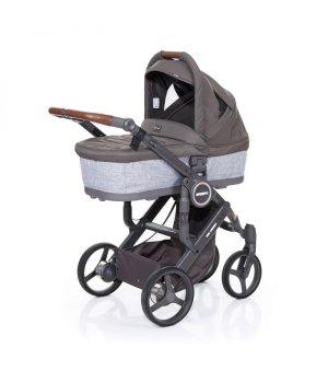 Универсальная коляска 2 в 1 ABC design Mamba Plus Сloud 2016 (шасси graphite grey)