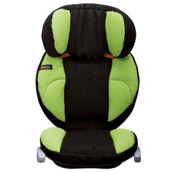 Автокресло BeSafe iZi Up X2 Черный с зеленым