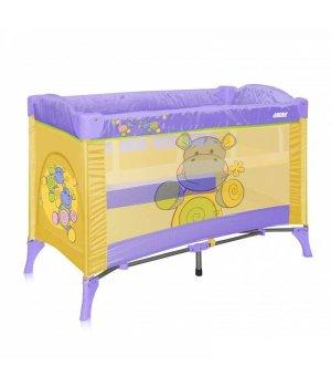 Bertoni Just4kids Arena 2 layer yellow hippo