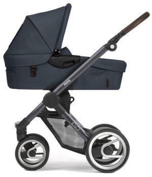 Классическая коляска Mutsy EVO Farmer Stonewash / Dark Grey Brown