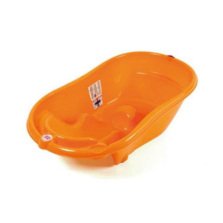Ванночка для купания OK Baby Onda оранжевый