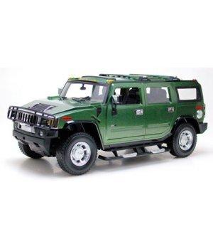 Автомобиль на радиоуправлении Hummer H2 1:10, MZ Meizhi зеленый