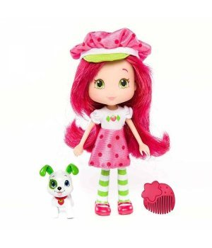 Кукла Strawberry Shortcake, серия Домашние любимцы (15 см) Шарлотта Земляничка (с ароматом)