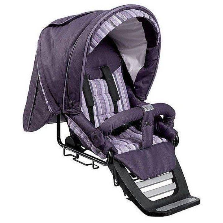 Прогулочная коляска Teutonia Spirit S3 Фиолетовый в полоску
