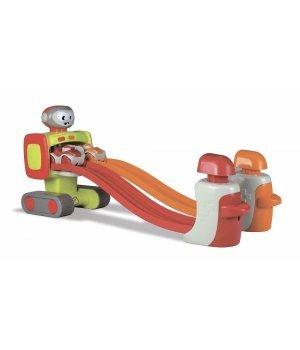 Автотрек-робот интерактивный Meli Dadi Push Push Race