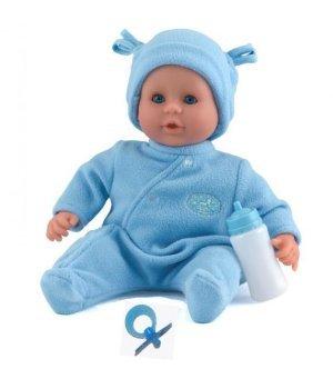 """Пупс Dolls World  """"Моя жемчужинка"""" в голубом (38см) (5018621081037)"""