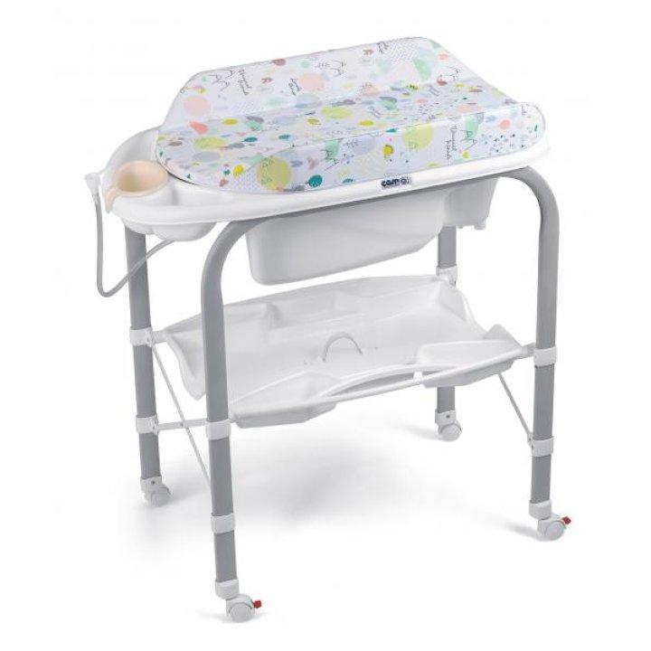 Пеленальный столик с ванночкой CAM Cambio C243 Мультиколор