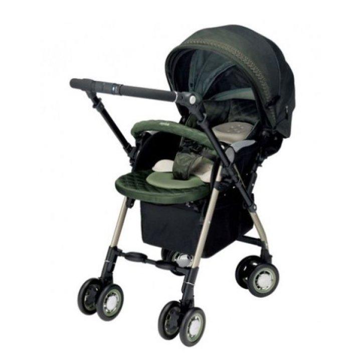 Прогулочная коляска Aprica Soraria Premium темно-зеленый