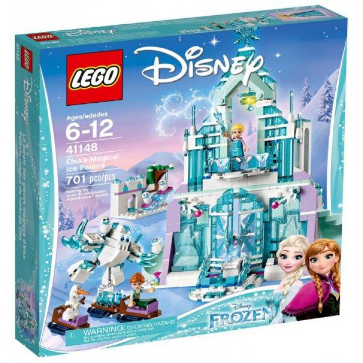 Конструктор Lego Disney Princess Волшебный ледяной дворец Эльзы (41148)
