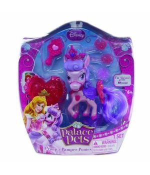 Яркая пони Disney Palace Pets Карамелька с аксессуарами