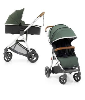 Универсальная коляска 2 в 1 BabyStyle Oyster Zero Olive Green