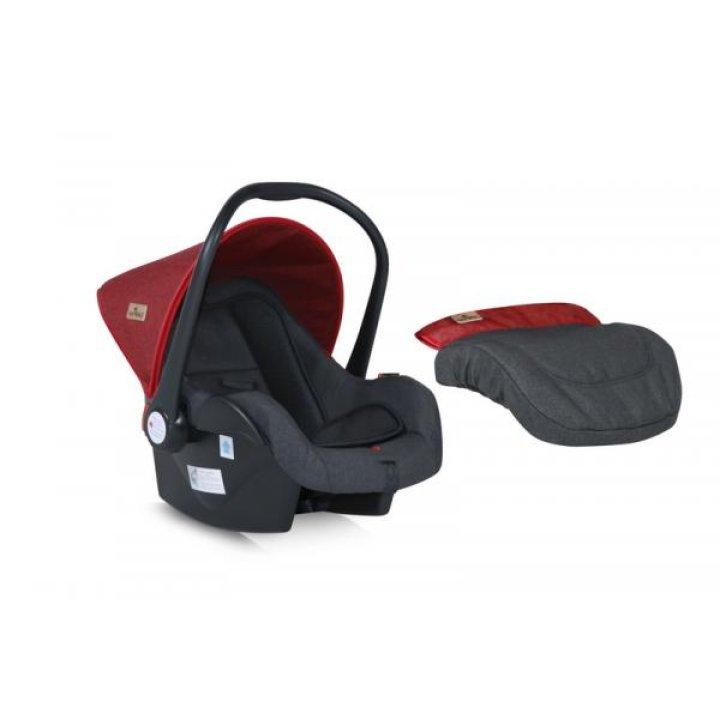 Автокресло Bertoni LIFESAVER black&red
