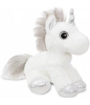 Aurora Мягкая игрушка Единорог Silver Сияющие глазки 30 см