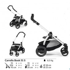Шасси Peg Perego BOOK 51 S Black/White