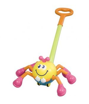 Игрушка BabyBaby Музыкальная каталка Паучок