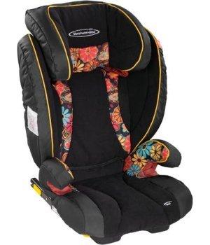 Автокресло STM Ipai SeatFix FreeStyle fancy-flower