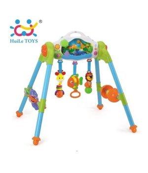 Детский игровой развивающий центр 3 в 1 Huile Toys