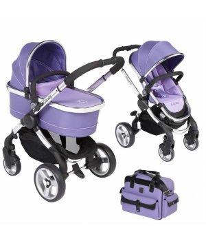Универсальная коляска 2 в 1 iCandy Peach (с сумкой) Parma Violet