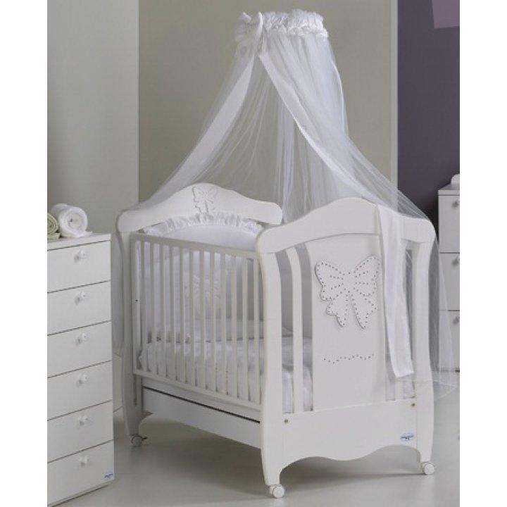 Кроватка Baby Italia Mimi белый