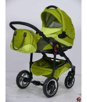 Универсальная коляска 2 в 1 Tako Ingis Go Stal PC 10 (зеленый с серым)