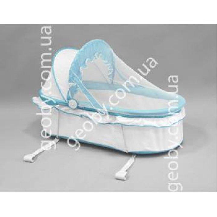 Люлька в кроватку Geoby YL201 B81 (Голубой с белым)