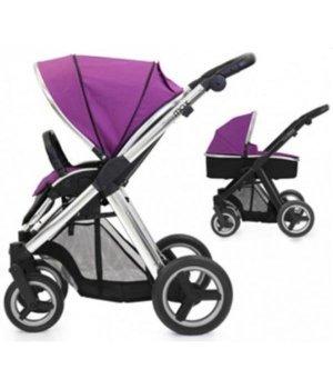 Универсальная коляска 2 в 1 BabyStyle Oyster Max Grape / Mirror (Сиреневая)