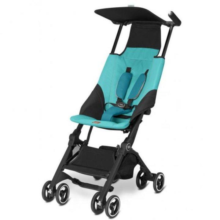 Прогулочная коляска GB Pockit Capri Blue-turquoise