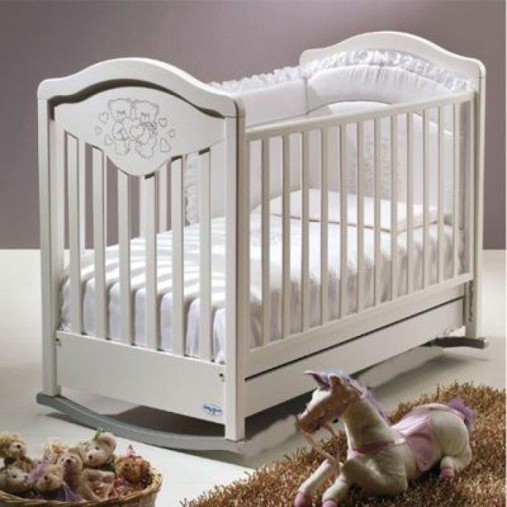 Кроватка Baby Italia GIOCO LUX белый