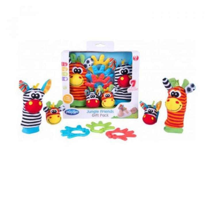 Подарочный набор для новорожденного Playgro Джунгли