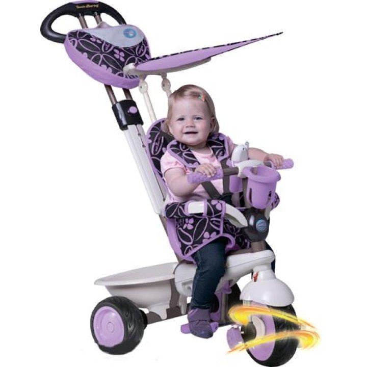 Детский велосипед Smart Trike Dream 4 в 1 сиреневый