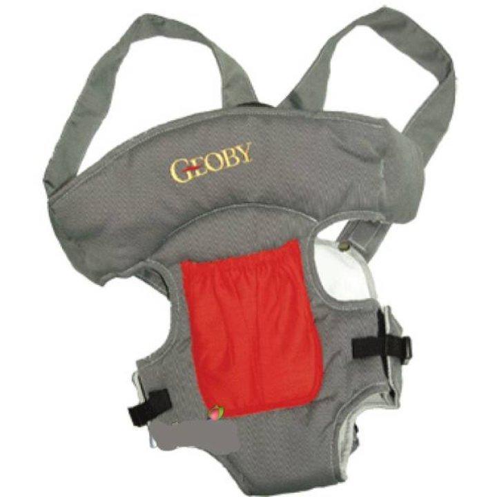 Рюкзак-кенгуру Geoby BD02 HH (Серый с красным)