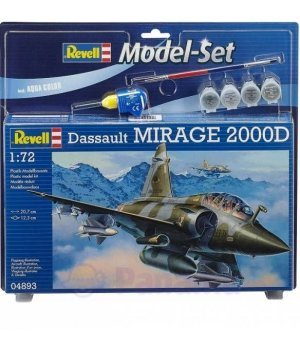 Конструктор 1:72 Revell Model Set Самолет Mirage 2000D