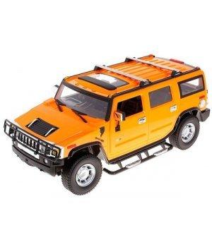 Автомобиль на радиоуправлении Hummer H2 1:10, MZ Meizhi оранжевый