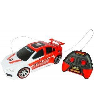Автомобиль на р/у New Bright Mitsubishi красный с белым