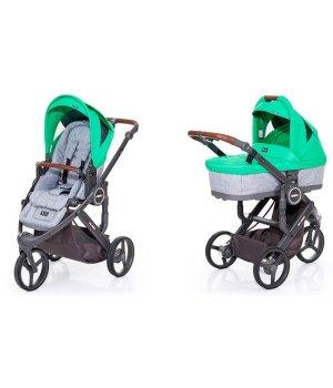Универсальная коляска 2 в 1 ABC design Cobra Plus Grass 2016 (шасси graphite grey)