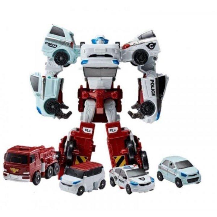 Tobot S3 Робот-трансформер мини КВАРТАН