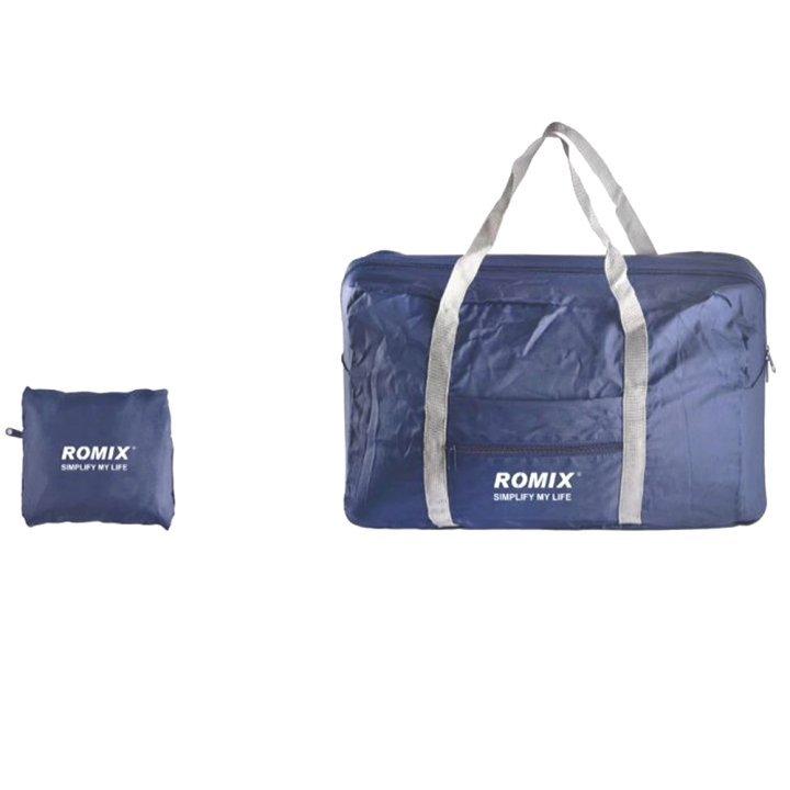 Складная сумка ROMIX Темно-синяя