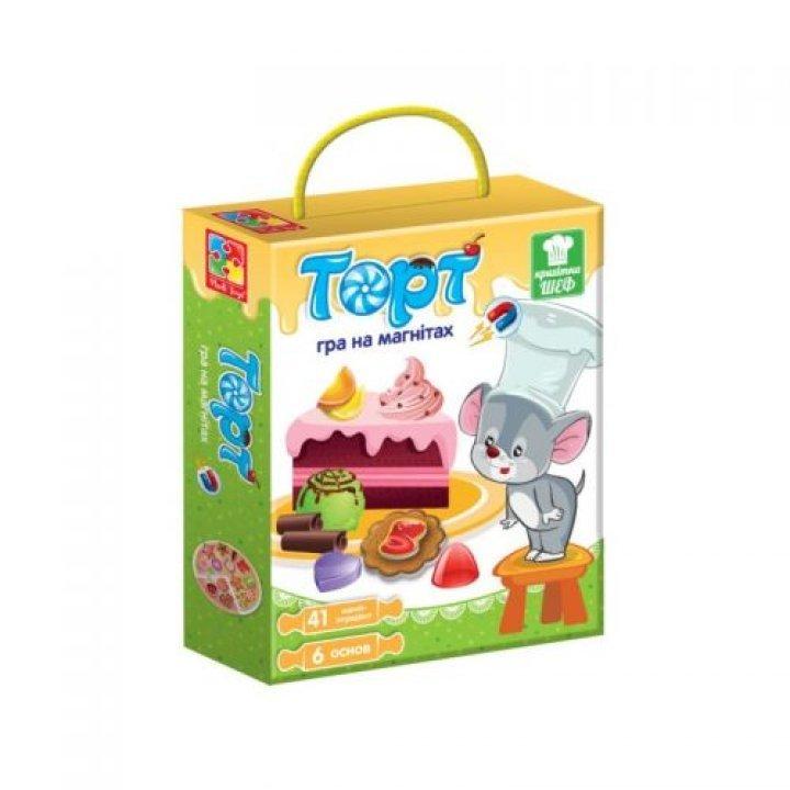 Игра магнитная Торт (TOY-43270)