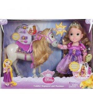 Кукла-малышка Рапунцель с лошадкой Disney