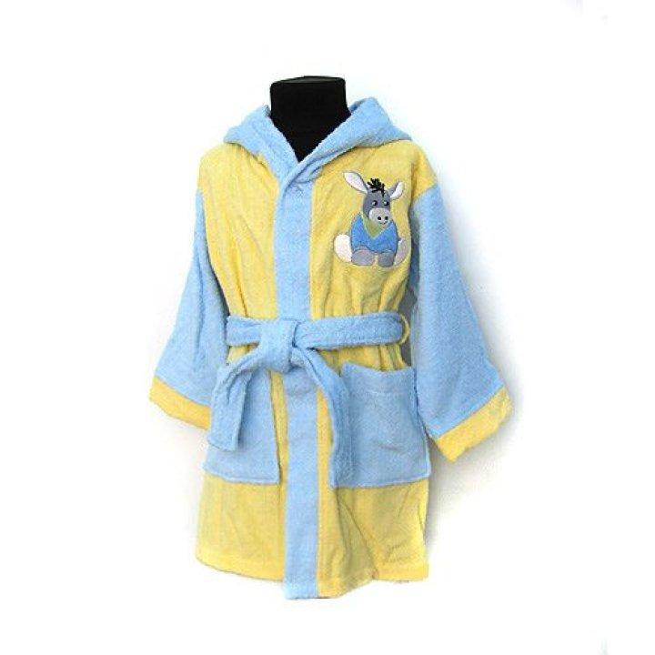 Банный халат Sterntaler с аппликацией Ослик размер: 98