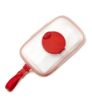 Силиконовый футляр для салфеток Skip Hop Красный (234150)