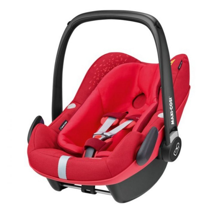 Автокресло Maxi Cosi Pebble Plus vivid red 2018