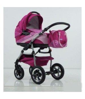 Универсальная коляска 2 в 1 Tako INGIS GO aluminium PC 07 фиолет-сиренев + розовый