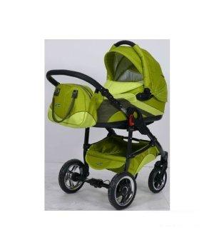 Универсальная коляска 2 в 1 Tako INGIS GO aluminium PC 10 зелено-салат + темно-зелен
