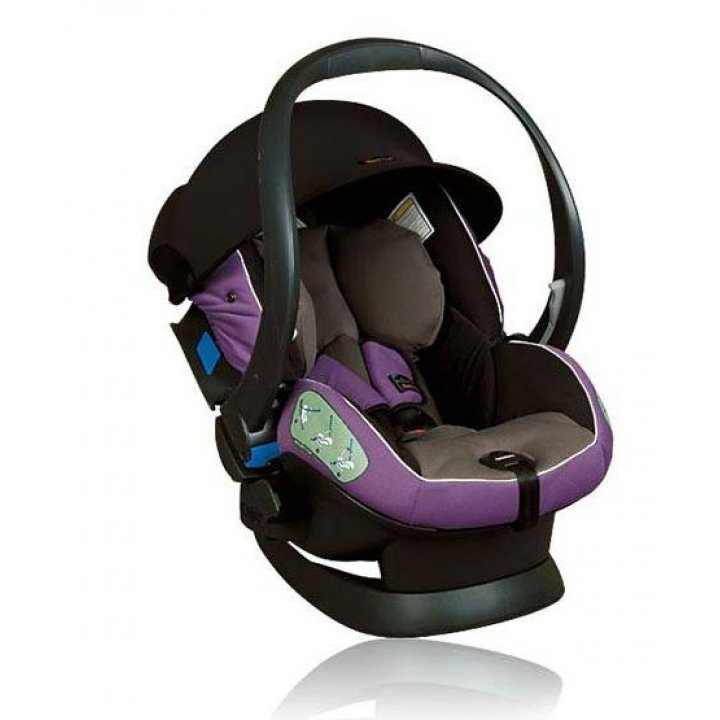 Автокресло BeSafe iZi Sleep с базой purple / grey
