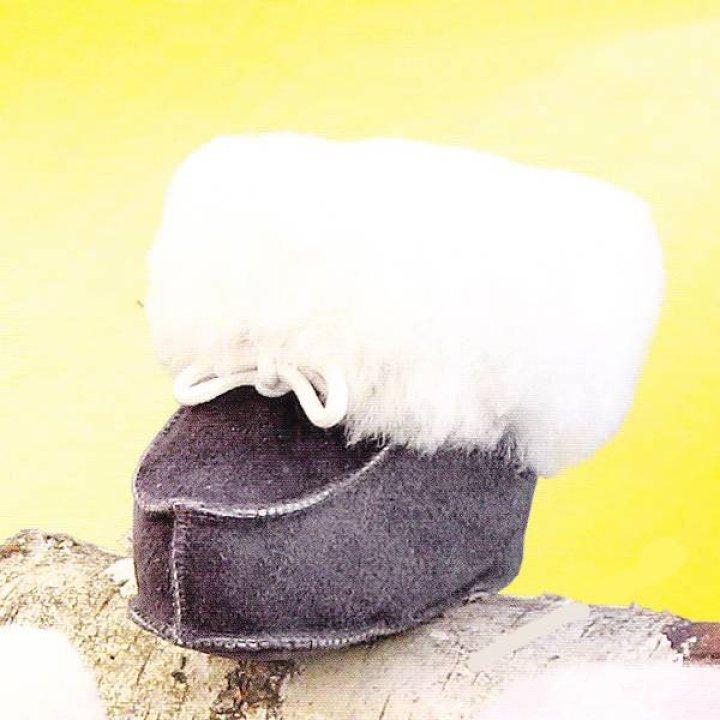 Пинетки для новорожденного Heitmann Felle размер 18-19, серый