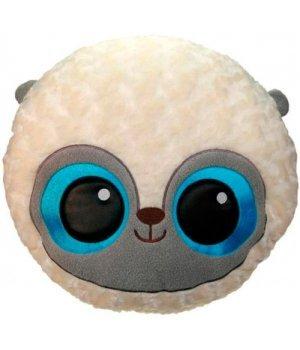Мягкая игрушка-подушка Лемур шарик голубой 41 см, Aurora
