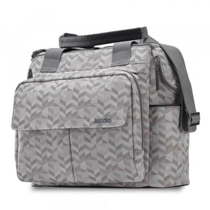 Сумка для коляски Inglesina Aptica Dual Bag Jacquard Grey (AX91M0SJG)